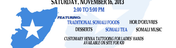 SDC 17th Anniversary – A Taste of Somalia