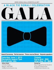 June 1st – A Black Tie Somali Celebration Gala